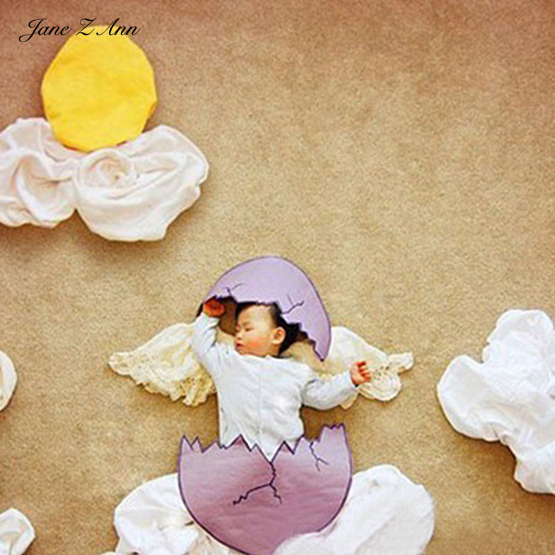 все цены на Jane Z Ann Baby Photography Props Theme Background Costume Clothes Baby egg shell photo Accessories Studio Shooting Photo Props