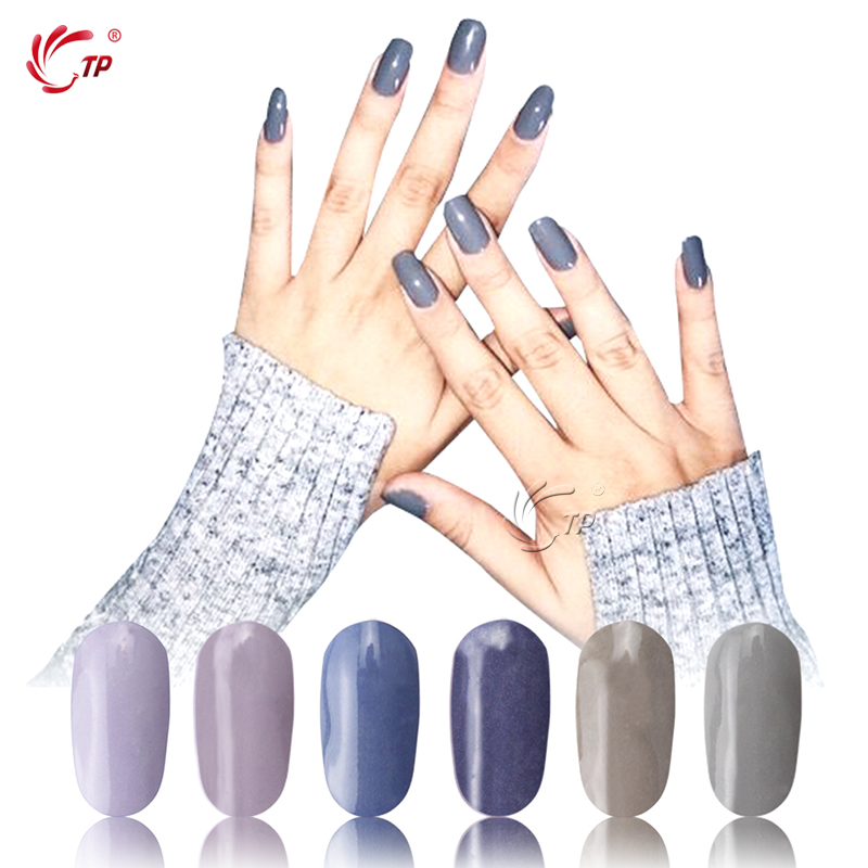 TP 28g/Box Gray Color Dipping Powder Without Lamp Cure Nails Dip Powder Gel  Nail Powder Natural Air Dry For Nail Salon