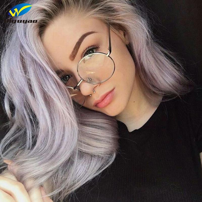 DIGUYAO NEW Classic Okrągłe Okulary Kobiety Okulary optyczne krótkowzroczność Vintage metalowe okulary Rama oculos de grau femininos