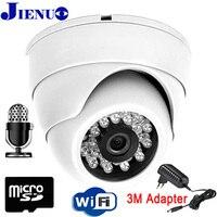 كاميرا ip wifi 720 وعاء 960 وعاء 1080 وعاء للمراقبة بالفيديو أمن داخلي wirless قبة كاميرا cctv nightvision الرئيسية sd بطاقة onvif jienu