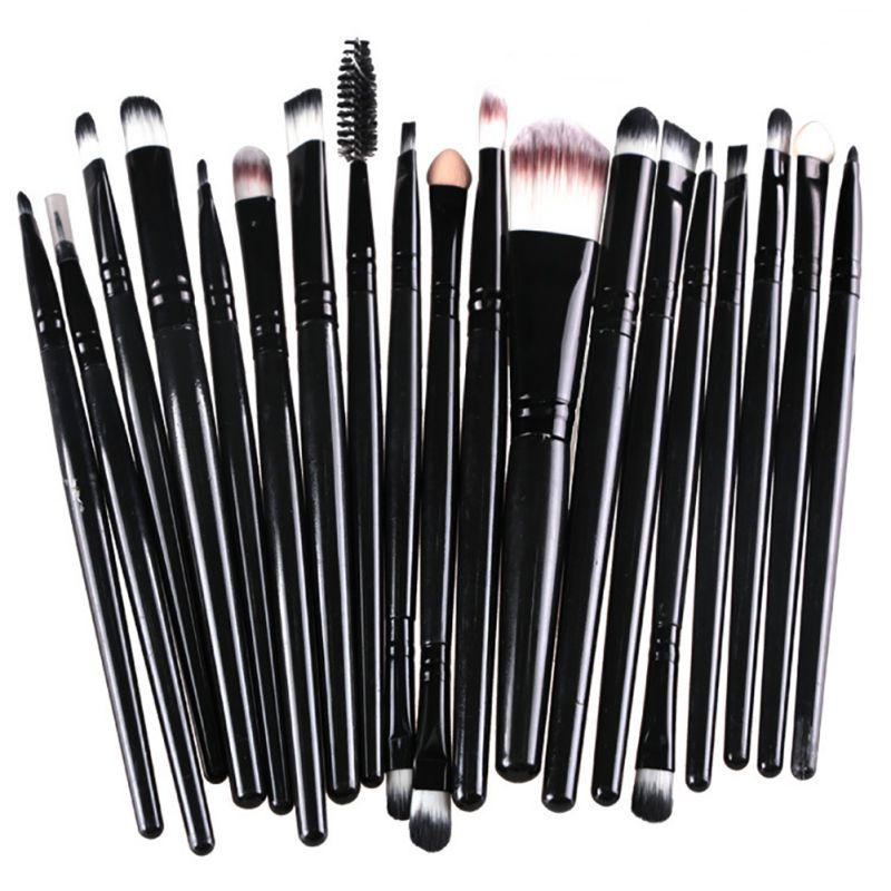 Beauty Set Powder Foundation Eyeliner Lip Eyeshadow Multifunctional Brushes Y15 mac beauty powder too chic украина