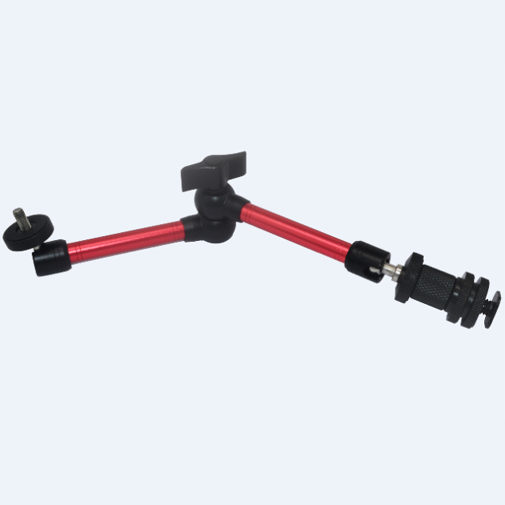 11'Adjustable Friction Articulating Magic Arm for DSLR LCD Monitor LED Light smallrig dual aluminum camera articulating arm ballhead extension bar for magic arms 1 4 screws dslr monitor support 2109