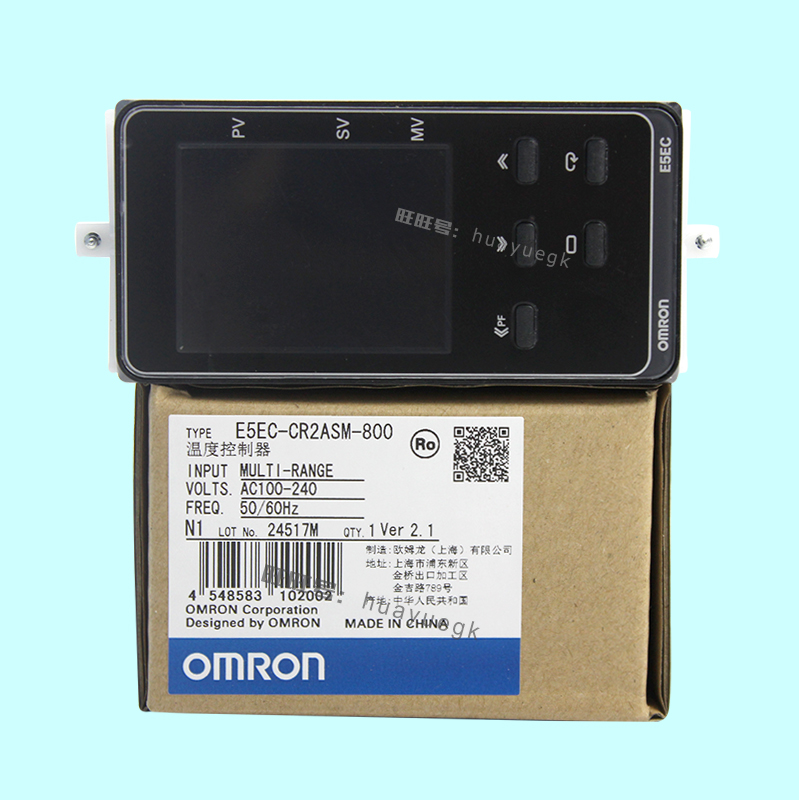 Original authentic OMRON electronic thermostat digital regulator E5EC-PR2ASM-804 E5EC-PR2ADM CR2ASM-800 804 усилитель yamaha p3500s
