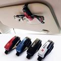 Precio barato Car styling accesorios gafas clip Del Visera de Sol Gafas de Sol de Recibo Del Billete Clip de la Tarjeta de Almacenamiento Titular freesh