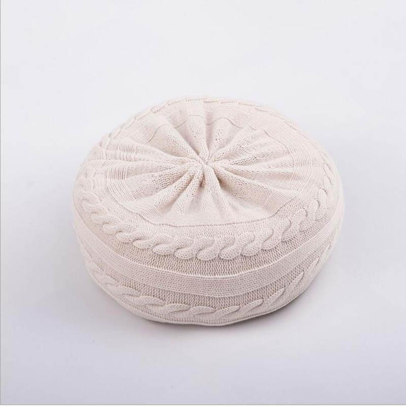 Новорожденный ребенок фото реквизит профессиональная позирующая подушка в форме полумесяца фотосъемка позиционер набор Белый хаки серый - Цвет: beige sofa