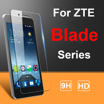 2PCS Screen Protector For ZTE Blade A3 A5 A7 2019 L8 V9 V10 Vita A6 Lite A530 Tempered Glass SmartPhone Film Protective Cover image
