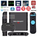 NEXSMART 1 GB/8 GB Quad-Core Cortex Smart TV BOX Android 5.1 Streaming de APLICATIVOS Pré-instalado Media Player + teclado