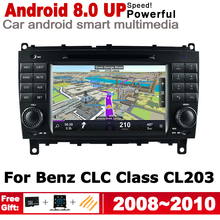 For Mercedes Benz CLC Class CL203 2008~2010 NTG Android Car DVD GPS Navi Map multimedia player radio System HD Screen Stereo все цены