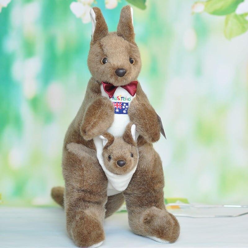 new plush kangaroo toy high quality kangaroo doll gift about 50cm big new plush cartoon koala toy high quality stuffed gray koala doll gift about 50cm