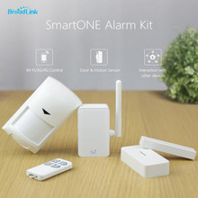 2016 New Broadlink s1c s1 SmartOne Alarm Safety Sensor Equipment For House Good House Automation System IOS Android Distant Management