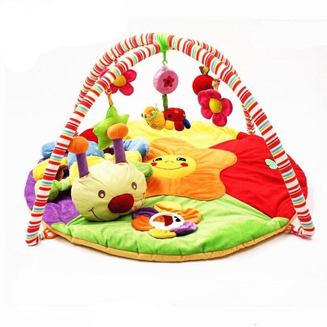 Baby Spielzeug Gym Matte Spielen Teppich Teppich Kinder Raupe Bett ...
