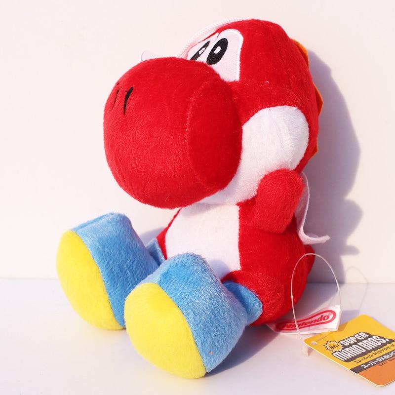 "Super Mario Bros Red Yoshi 7/"" Plush"