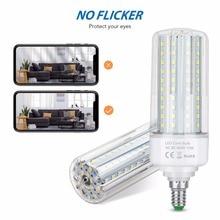 4PCS LED Light Bulb E14 Candle Light E27 LED Corn Lamp 220V Ampoule 5W 10W 15W 20W LED Bulb No Flicker 2835 SMD Home Lamp 110V