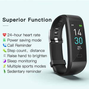Image 5 - חדש עמיד למים שעון מגע מסך חכם צמיד רפואי כיתה קצב לב צג מצלמה הודעת הודעות עבור IOS אנדרואיד