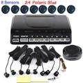 44 colors available Car Parking Sensor Rear Front Auto Parking 8 Sensors Reverse Backup Radar Parking System hot sale