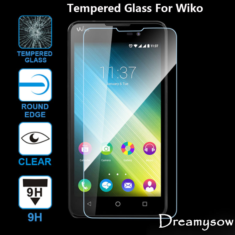 GUOSHU Premium Tempered Glass Screen Film 100 PCS 0.26mm 9H 2.5D Tempered Glass Film for Motorola Moto M Anti-Scratch Screen Protector