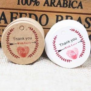 100pcs various wedding favors tag kraft gift label tag thank you paper gifts/wedding favors /cookies decorative hang tag 100pcs