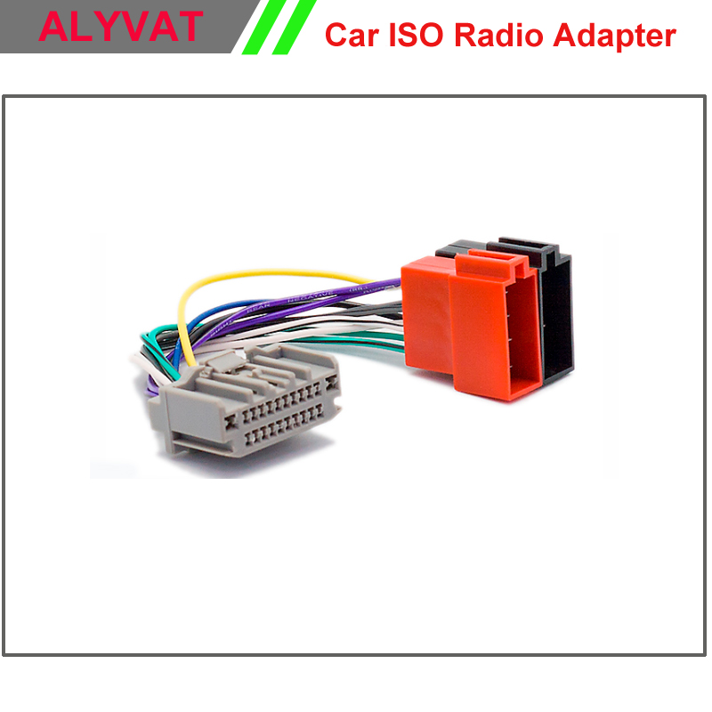 2008 Jeep Wrangler Stereo Wiring Harness : Car iso stereo adapter connector for chrysler dodge