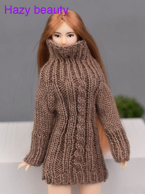 туманно красоты кукла вязаная ручной работы свитер топы пальто