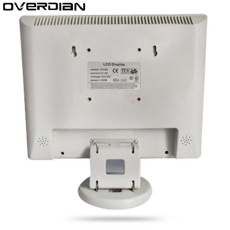 12VGA/HDMI/AV/BNC Connector Plastic Monitor 1024*768 Song Machine Cash Register Square Screen Lcd Industrial Monitor/Display