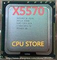 Оригинальный Intel Xeon X5570 CPU processor/2.93 ГГц/LGA1366/8 МБ L3 Cache/Quad-Core/ЦП сервера (работает 100% Бесплатная Доставка)