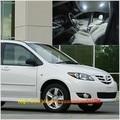 Free Shipping 11pcs/lot White 12 volt Interior Car LED Lights For Mazda MPV 1999-2006