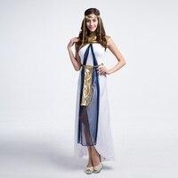 Halloween Costume The Greek Goddess Of The Queen Of Egypt Arabia White Dress Girl