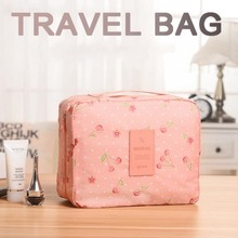 New 2019 Travel Waterproof Cosmetic Bag Organizer Portable Storage Make Up Case Bag Pouch Zipper Makeup Bag Neceser Toiletry Kit цены
