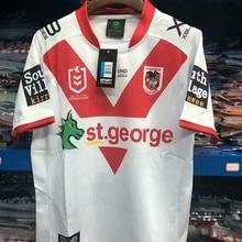 d897c47b298 YIGEGE 2019 ST GEORGE ILLAWARRA DRAGONS HOME JERSEY St.George Illawarra Dragons  rugby jerseys Commemorative