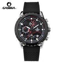 CASIMA Sport hommes montres marque de mode quartz wirst montre lumineux montre étanche hommes multifonction relogio mascul #8203