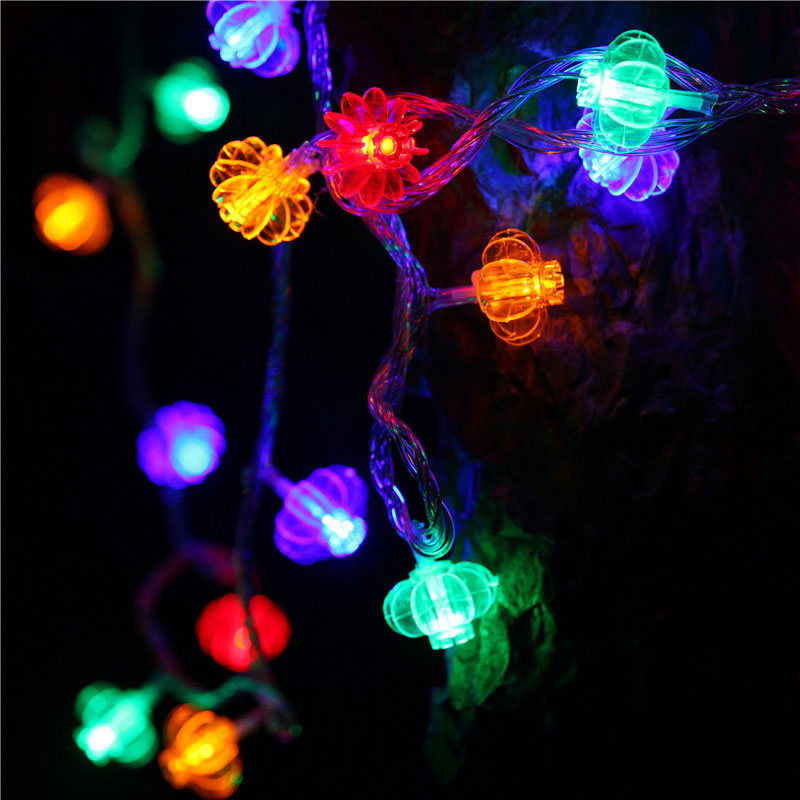 30M LED String Lights 300 Leds Red Lantern Strip Lamp Lighting for Wedding Party Festival Decoration EU Plug LB88