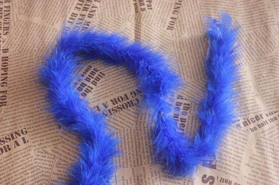 Marabu боа 2 м/лот 20 г 10 Новые цвета 1 шт - Цвет: blue