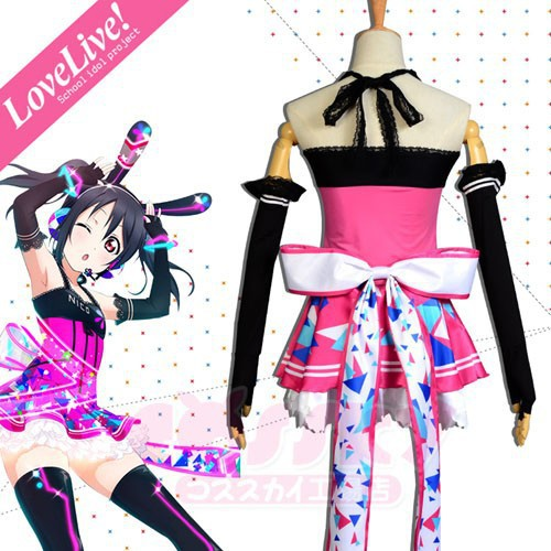 Love Live Videogame Awakening Yazawa Nico Fashion Party Lolita Dress Cosplay Costumes An ...