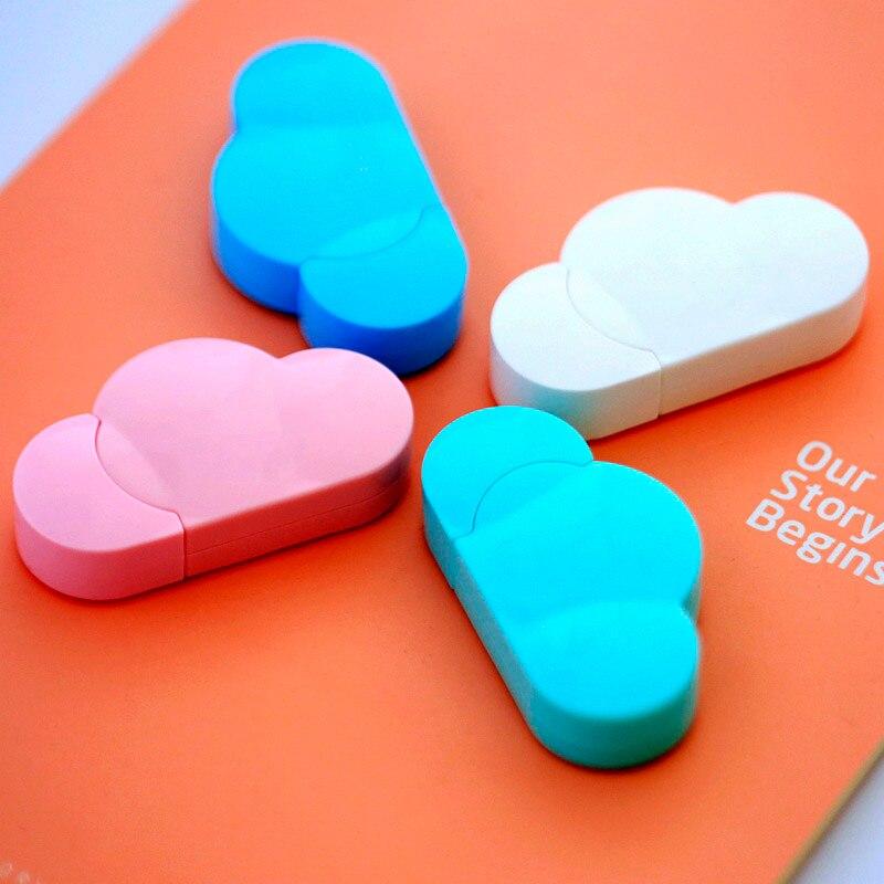5 мм X 5 м Deli милый Kawaii Cloud мини маленькая Корректирующая лента корейские милые канцелярские товары новинка офисные детские школьные принадлежности для детей