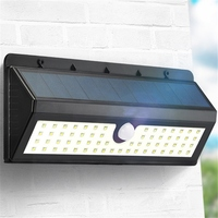 ARILUX AL SL06 800LM Solar 62 LED PIR Human Body Motion Sensor Wall Light Outdoor Garden