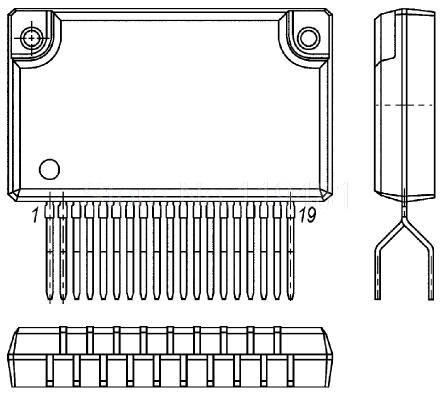AN5270 ZIP9 Specials-new genuine TV sound amplifier IC--PJDZ