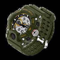 Sanda Luxury Brand Watches Uomo Sport Militare Luminoso Multifunzione Da Corsa Mens Polso Al Quarzo Relojes Impermeabili Hombre