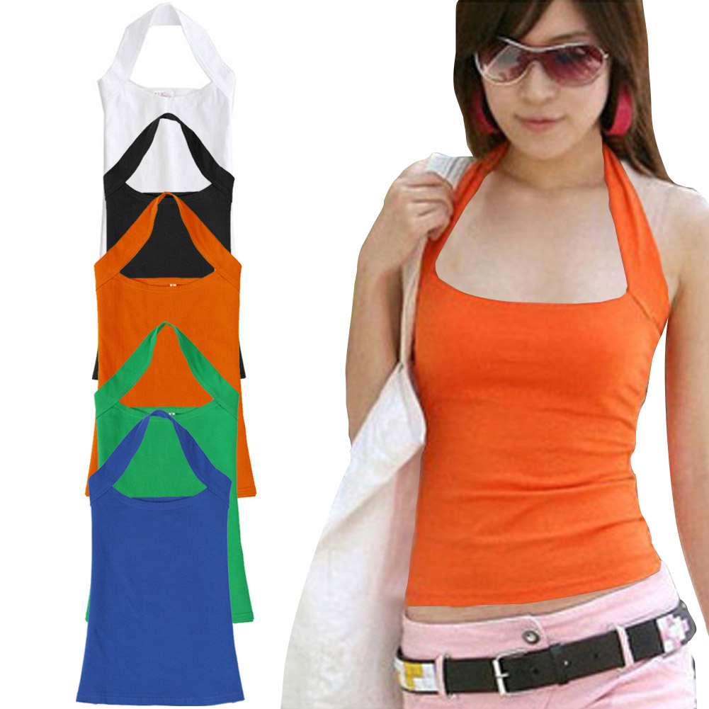 Crop Tops Women 2017 Summer Sexy Cotton Tank Top Backless Cropped Strapless Slim Vest For Women Ladies cropped feminino