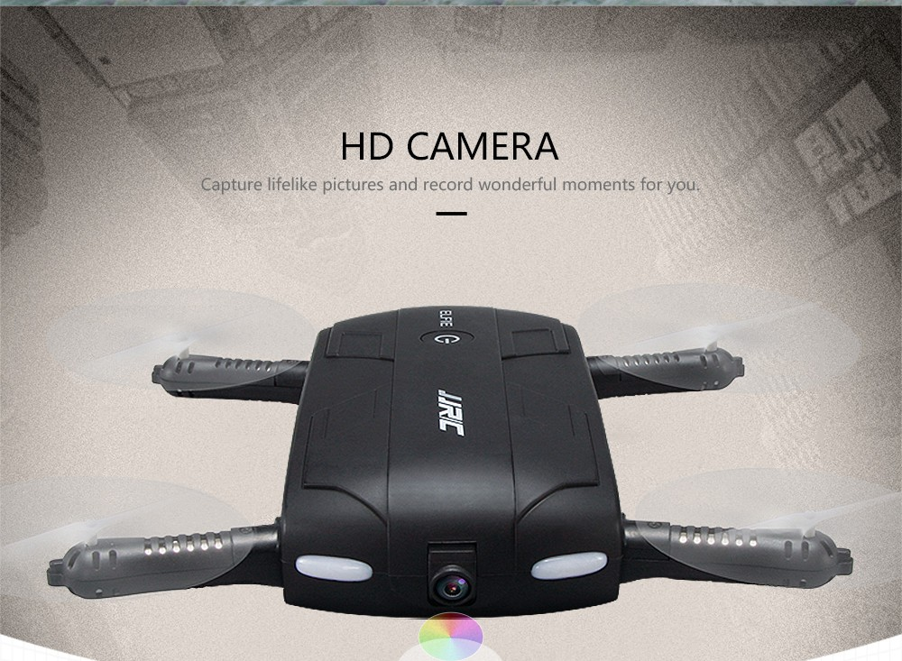 JJRC H37 Elfie FPV RC Quadcopter Drone with 720P WiFi Camera Altitude Hold Headless Mode Foldable Pocket RC Helicopter VS H31