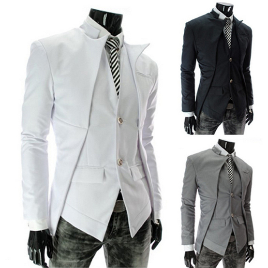 Popular White Suit Jacket Men-Buy Cheap White Suit Jacket Men lots ...