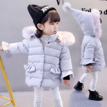 Baby Winter Jacket Toddler Girls Autumn Winter Hooded Coat Thick Warm Clothes Children Jacket Kids Outerwear Boy Girl Coat Parka 2018 autumn and winter boys and girls jacket baby winter thick warm cotton clothes baby hooded quilted jacket