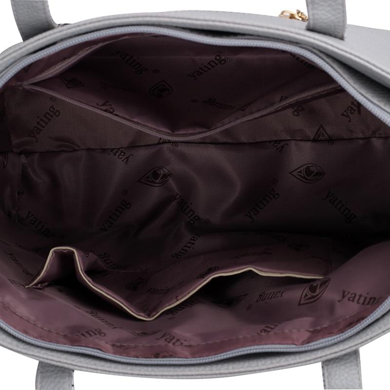 New woman bag Shoulder Bag 6PCS/Set Ladies Casual PU Leather Handbag Women Messenger Crossbody bag High Quality Sac a Main