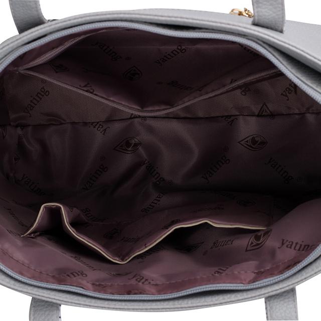 2016 New woman bag Shoulder Bag 6PCS/Set Ladies Casual PU Leather Handbag Women Messenger Crossbody bag High Quality Sac a Main