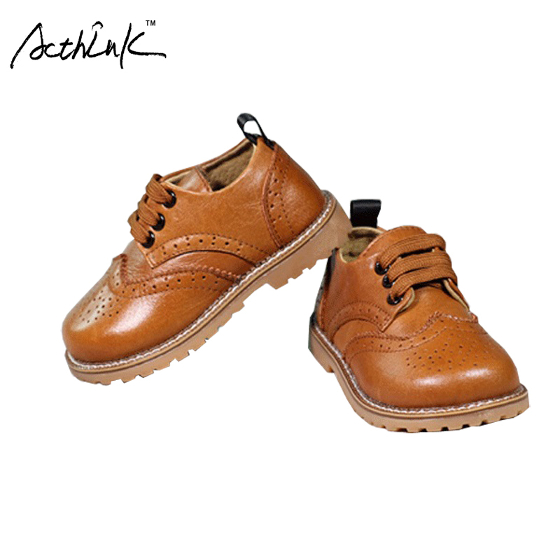 ActhInK New Arrival Children Leather Wedding Shoes for Boys Kids Formal Breathable Shoes Girls Performance Leather Shoes, AS014ActhInK New Arrival Children Leather Wedding Shoes for Boys Kids Formal Breathable Shoes Girls Performance Leather Shoes, AS014