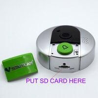 HD 720P WiFi Doorcam IP Door Camera Digital Door Viewer Eye Wireless Doorbell Android Phone Control