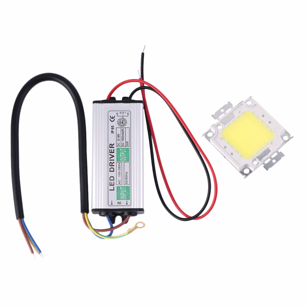 Gather Beauty Style 2017 High Quality 10-100W LED SMD Chip Bulbs With High Power Waterproof LED Driver Supply Lighting for LED Strip Downlight