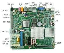 IB945/945GM motherboard with Intel processor / ddr2/PCI/LVDS/VGA/6COM /output lan