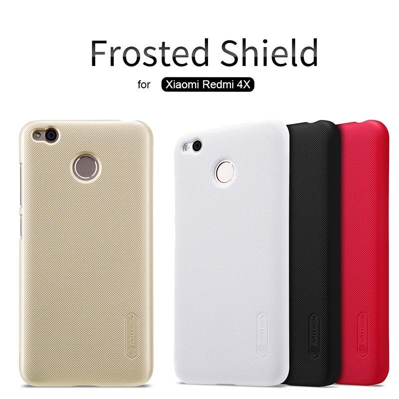 Für Xiaomi Redmi 4X Nillkin Supermattschild Stark PC abdeckung für Redmi 4X Prime Nilkin Telefon Fall + Bildschirm schutz