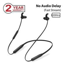 Avantree NB16 20 часов ожерелье с Bluetooth наушники для ТВ ПК, без задержки, магнитные Беспроводные наушники с микрофоном в наушниках