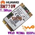 DESBLOQUEADO HUAWEI EM770W WWAN 3G HSDPA HSUPA PCI-E Cartão de WCDMA/GSM/EDGE EM770